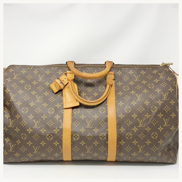 b841de5062f3 Louis Vuitton Handbags - Authentic Louis Vuitton Keepall Bandouliere 55 Bag